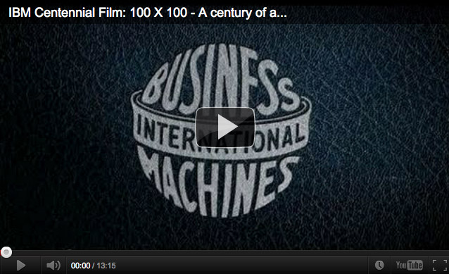 IBM - 100 years of innovation